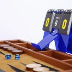 Scoreboard + cellphone-clock-app stand