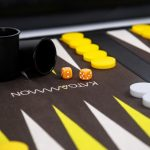 Roll-Up Backgammon Travel Game Set