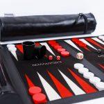 Roll-Up Backgammon Travel Game Set