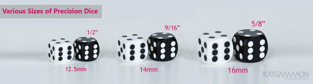 precision dice size