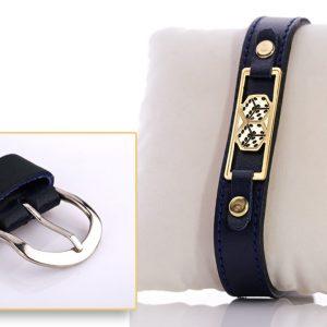 Katgammon Hand made leather bracelet