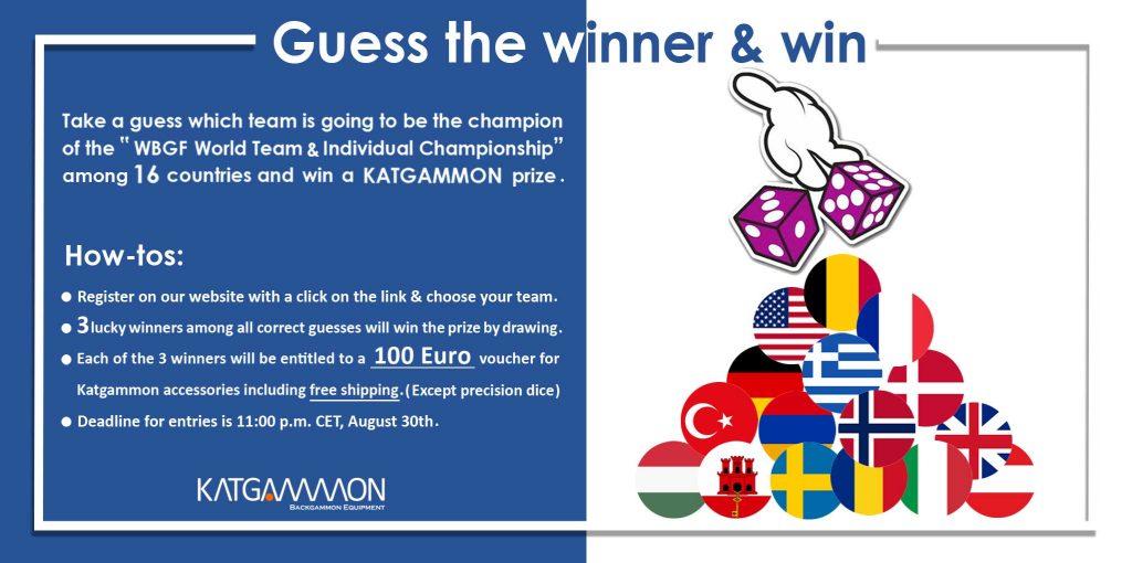 Guess the winner & win