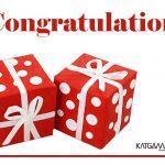 Congratulation Katgammon 005