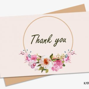 Gift Card Thank you 008