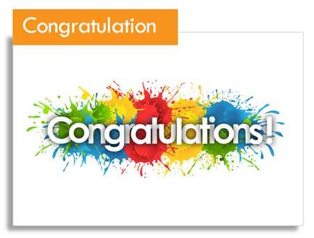 Katgammon Congratulation Gift Card