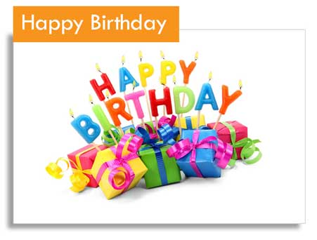 Katgammon Happy Birthday Gift Card